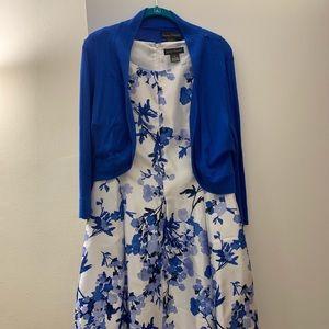 Blue formal dress dize 14